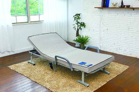 収納式 電動リクライニングベッド