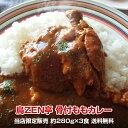 楽天総合ランキング1位!送料込み チキンカレー 丸ごと1本骨付ももカレー 福岡の鶏肉専門居酒屋の鳥ZEN亭が作ったがっ…