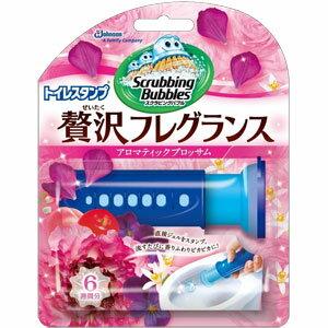 スクラビングバブル トイレスタンプクリーナー 贅沢フレグランス アロマティックブロッサムの香り 本体 (38g)