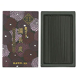 カメヤマ 花げしき 備長炭 ミニ寸 (約50g)
