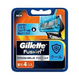 ジレット フュージョン5+1 プロシールド クール 替刃 4個入 [ジレット ヒゲ用かみそり]_
