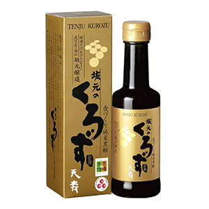 天寿りんご黒酢 360ml (黒酢)