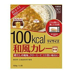 大塚 マイサイズ 和風カレー 100g_