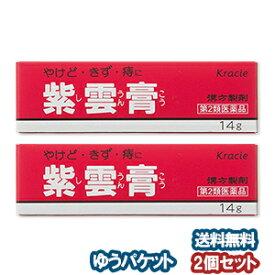 【第2類医薬品】 クラシエ 紫雲膏(シウンコウ) 14g×2個セット メール便送料無料_