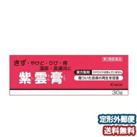 【第2類医薬品】 クラシエ 紫雲膏(シウンコウ) 30g メール便送料無料14gよりお得な30g_