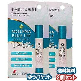 ゼリア新薬 モレナプラスリップ 3.5g×2個セット メール便送料無料