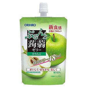 オリヒロ ぷるんと蒟蒻ゼリースタンディング 青りんご 130g×8個