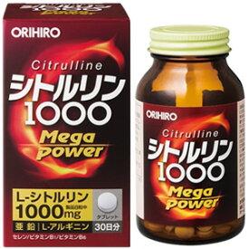 オリヒロ シトルリン Mega Power 1000 240粒_