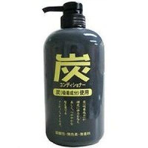 純薬 炭コンディショナー ポンプ 600ml_
