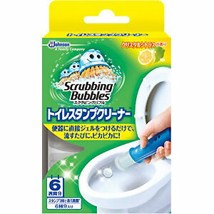 スクラビングバブル トイレスタンプクリーナー クリスタルシトラスの香り 本体 6回分入り(38g)