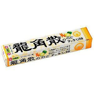 龍角散ののどすっきり飴シークヮーサー味 スティック 10粒