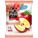 オリヒロ ぷるんと蒟蒻ゼリーパウチ 蜜りんご 6個_