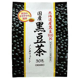 オリヒロ 国産黒豆茶100% 6g×30包_