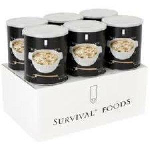 ◆セイエンタープライズ 大缶(1号缶)サバイバルフーズ 洋風とり雑炊 25年保存 1ケース 6缶入り