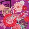[Coming of age ceremony kimono] purple long-sleeved kimono rental 462 skansai [quinceañera] [full set] and women kimono and furisode rental れんたる comingof inbetween / furisode
