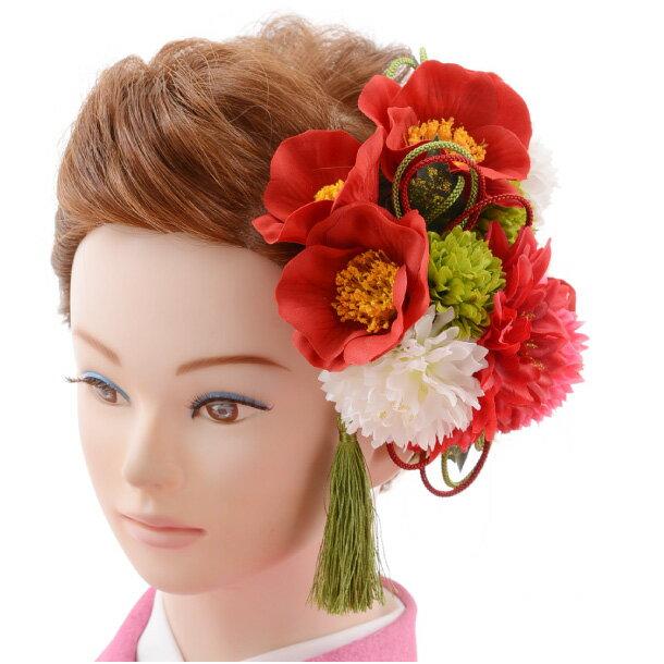 【着物 髪飾り】着物 髪飾り 花 和装用〔振袖 髪飾り 花