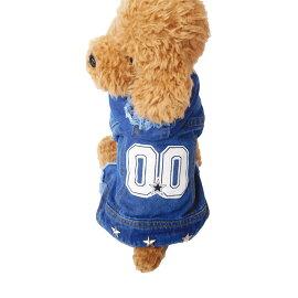 【メール便送料無料】犬服犬の服ドッグウェア洋服犬服つなぎカバーオールデニム可愛いおしゃれ通販犬服洋服かわいい犬服お洒落ペット服ワンちゃん服