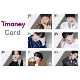 【数量限定】 防弾少年団( BTS X CU) 公式グッズ / ミラー BTS t-money カード 2021 / K-POP / ( 韓国 ソウル 地下鉄 バース 旅行 )