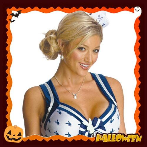 [ハロウィン コスプレ] プレイボーイ・セーラー(Playboy Sailor)[ハロウィン衣装 ハロウィンコスチューム ハロウィン仮装 衣装 コスチューム]【990559】