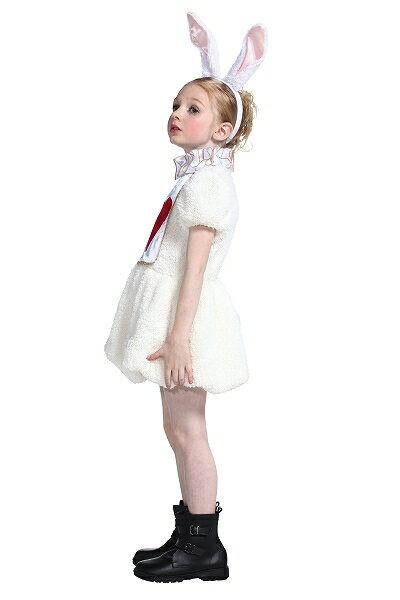【ハロウィン衣装子供不思議の国のアリスコスチュームアリス衣装】ワンダーラビットガールキッズ100【841913】