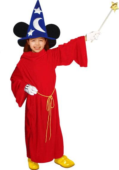 【ミッキーコスプレ衣装ファンタジアハロウィン】MickeyMouseFantasiaCostume-ChildM(ミッキーマウス・ファンタジア・コスチューム・チャイルド:子供用M)【028514】