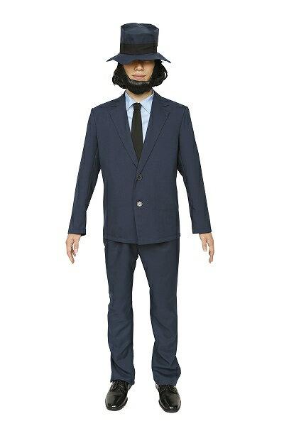 【ルパンコスプレ】大泥棒シリーズクールガンマン[次元大介コスプレ泥棒衣装コスチュームルパン仮装大人男性なりきり衣装]【A-1328_862932】