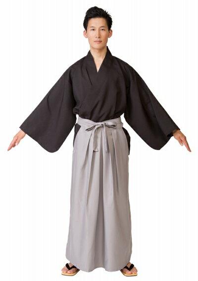 MENコス侍(※カツラは付属していません)[武士サムライ時代劇衣装コスプレコスチューム]【A-1202_855460】