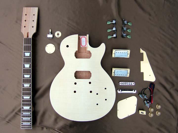 HOSCO ER-KIT-LP 【LPタイプ組み立てギターキット】【送料無料】【smtb-u】