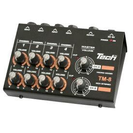 TECH 8ch MICRO MIXER TM-8
