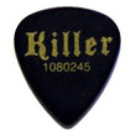 Killer Original Pick サンドピック黒 0.8mm 《ピック》【100枚セット】【送料無料】