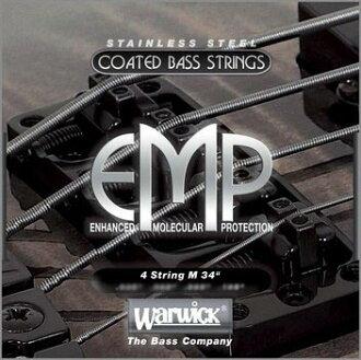 WARWICK EMP Coated Strings 4-string set Medium (45-105) bass strings