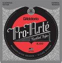 D'Addario EJ30 Classics Rectified Trebles, Normal Tension《クラシックギター弦》 【ネコポス】