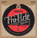 D'Addario EJ49 Pro-Arte Black Nylon, Normal Tension《クラシックギター弦》 【ネコポス】