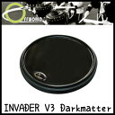 OFFWORLD Percussion INVADER V3 Darkmatter 練習用 ドラムパッド【送料無料】【sntb-u】