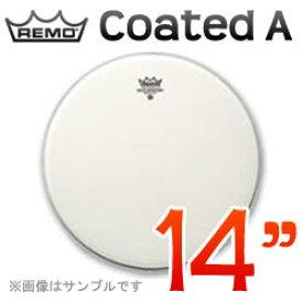 """REMO Coated A(アンバサダー) 14""""(35cm) 〔114BA〕《ドラムヘッド》レモヘッド"""