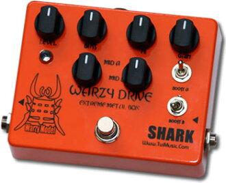 鲨鱼的影响 WARZY 驱动器极端金属框-