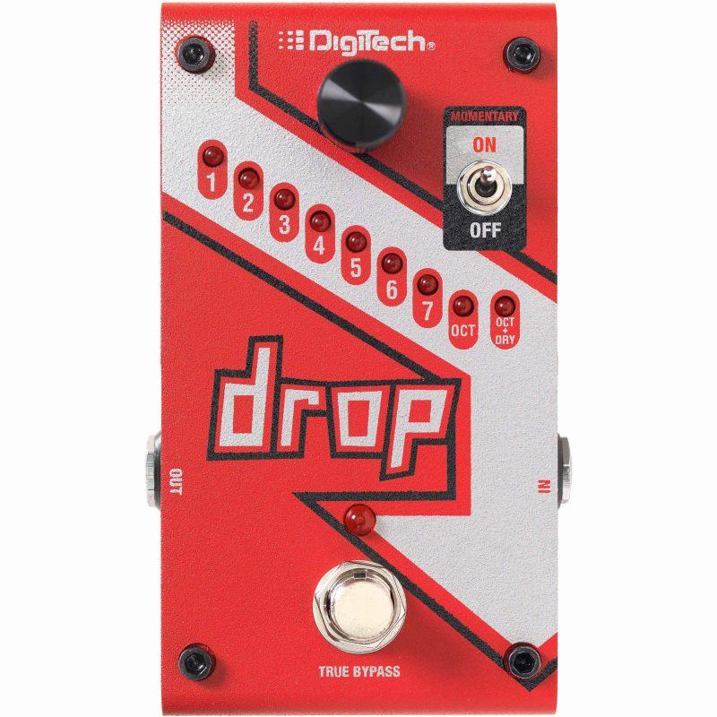 Digitech DROP 《エフェクター/ポリフォニックドロップチューンペダル》【送料無料】【次回入荷分ご予約受付中】
