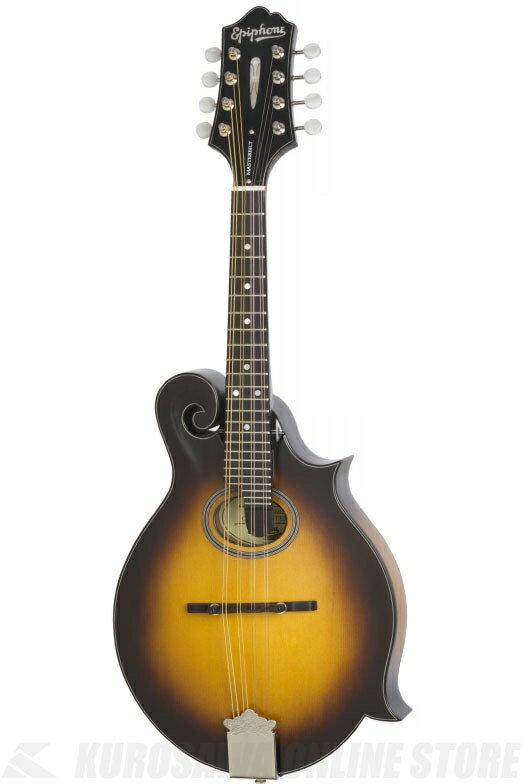 "Epiphone MM-40L ""F"" style Mandolin[EMMAVSNH1]《マンドリン》【送料無料】"
