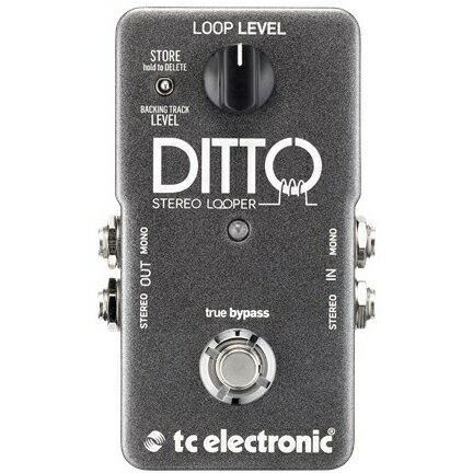 TC Electronic Ditto Stereo Looper 《エフェクター/ステレオ・ルーパー》【送料無料】