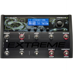 TC-HeliconVoiceLive3Extreme《エフェクター/ボーカル&ギター用マルチエフェクト+ルーパー》【送料無料】【ご予約受付中】