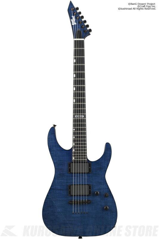 BanG Dream! ESP×バンドリ! ガールズバンドパーティ!Roselia 氷川紗夜 Model M-II SAYO(See Thru Purple)(エレキギター)(送料無料)(予約受付中)