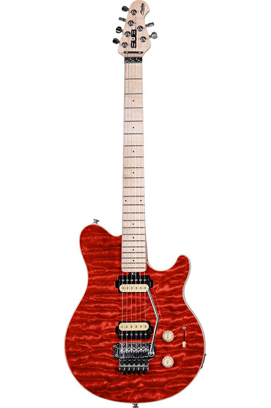 """Sterling by MUSIC MAN AX4 (Translucent Red) """"S.U.B. Series"""" 《エレキギター》【送料無料】"""