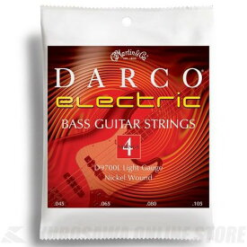 Martin Darco Electric Bass D9700L (Light 45-105) 《ベース弦》 【ネコポス】【日本総本店在庫品】 【ネコポス】