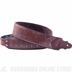 Right on! STRAPS STRAP COLLECTION SPARKS Series ROUND (Brown)《ストラップ》【送料無料】