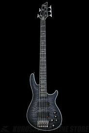 Schecter Diamond Series HELLRAISER EXTREME 5 See Thru Black Satin(STBLS)[AD-HR-EX-BASS-5/STBLS](5弦ベース)(送料無料)(お取り寄せ)