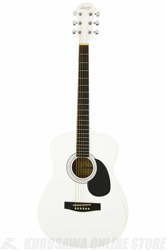 Legend FG-15 PWH(Pearl White) 《アコースティックギター》【初心者向け】【ソフトケース付属】