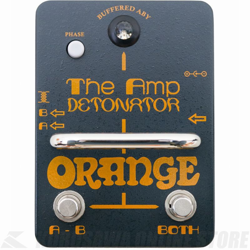 Orange Amp Detonator Buffered AB-Y switcher pedal《エフェクター/バッファ内蔵ABYスイッチャー》【送料無料】