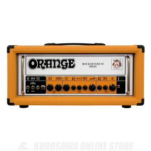 Orange Rockerverb 50 MKIII Head《ギターアンプ/ヘッドアンプ》【送料無料】 【スピーカーケーブル&フットスイッチプレゼント】