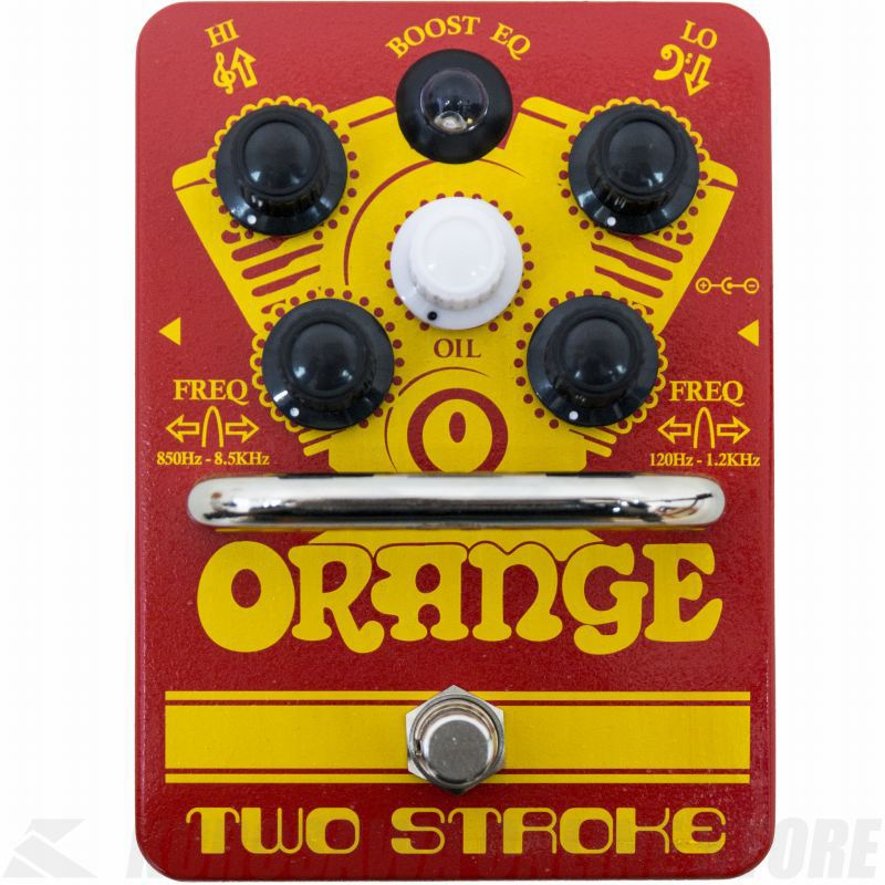 Orange Two Stroke Boost EQ guitar effects pedal 《エフェクター/イコライザー付きブースター》【送料無料】