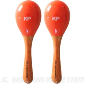Nakano Kids Percussion Mini Maracas (オレンジ) [KP-120/MM/O] 《ミニマラカス》